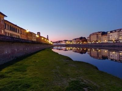 Dusk in Pisa