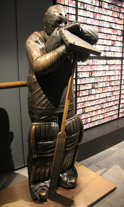 Statue of Ken Dryden Goalie for the Canadiens