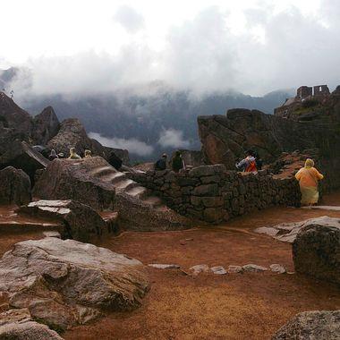 Foggy and misty Machu Picchu!