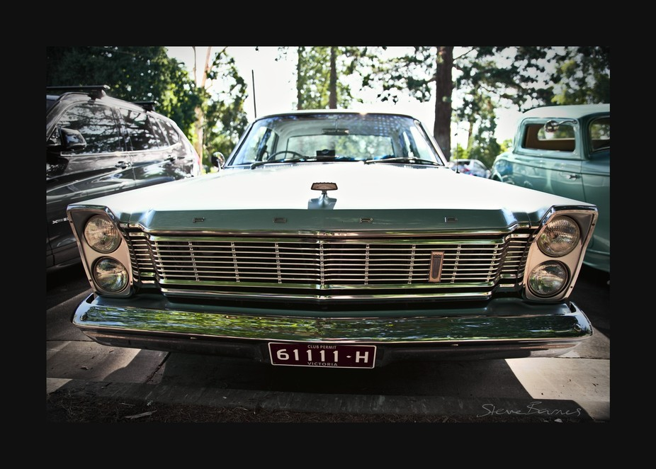 Gorgeous classic cars meetup at Lake Wendouree, Ballarat, Victoria, Australia    K1SB4417-wm-fs