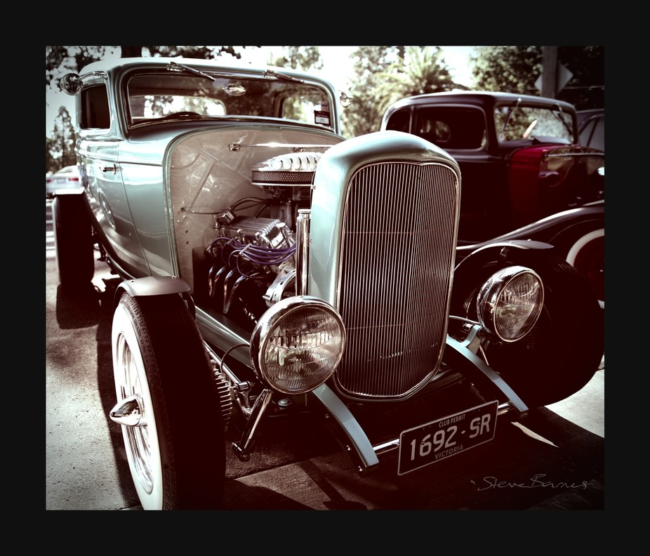 Gorgeous classic cars meetup at Lake Wendouree, Ballarat, Victoria, Australia    K1SB4418-wm-fs
