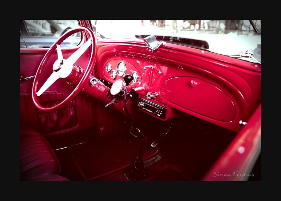 Gorgeous classic cars meetup at Lake Wendouree, Ballarat, Victoria, Australia    K1SB4421-wm-fs