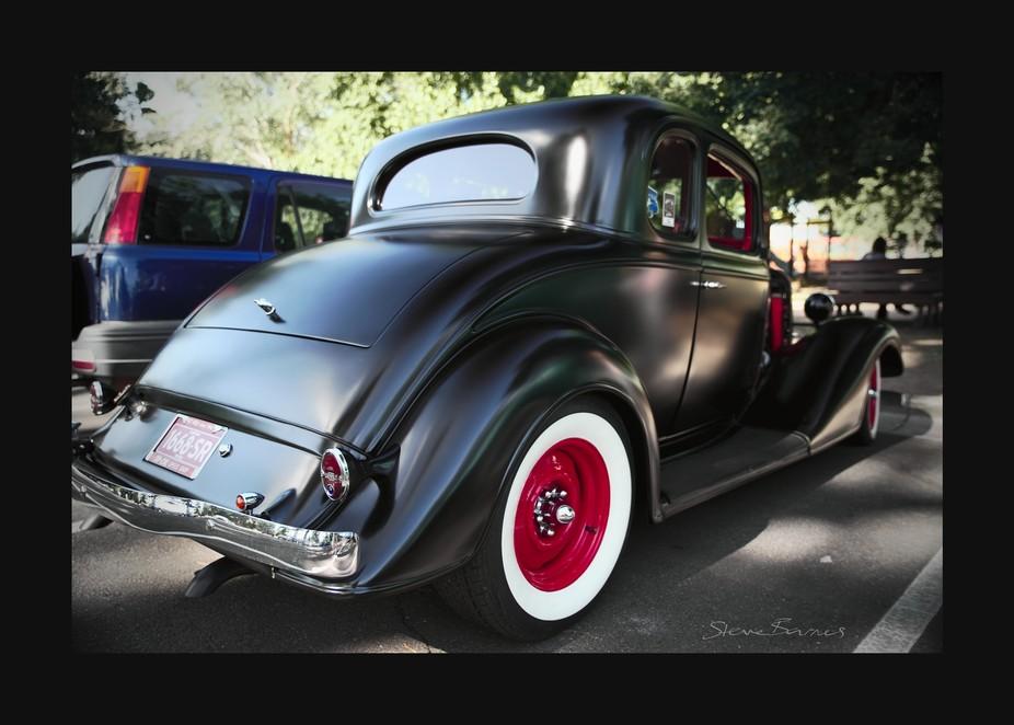 Gorgeous classic cars meetup at Lake Wendouree, Ballarat, Victoria, Australia    K1SB4422-wm-fs