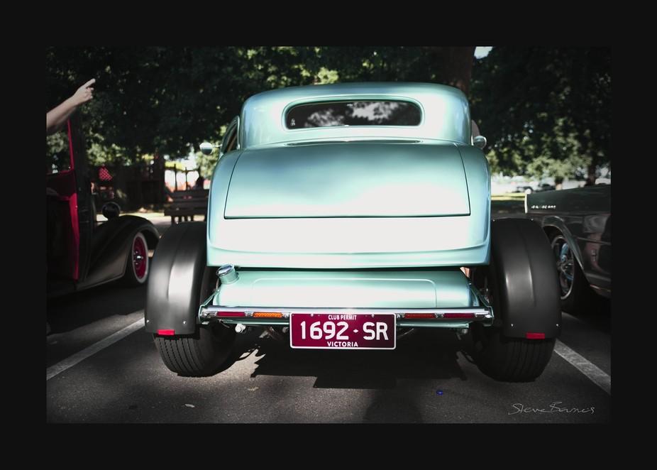 Gorgeous classic cars meetup at Lake Wendouree, Ballarat, Victoria, Australia    K1SB4423-wm-fs