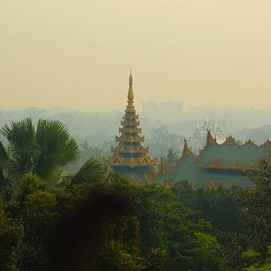Serene, etherial Yangon, Myanmar!
