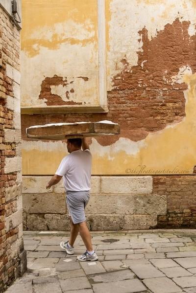 Baker in Venice
