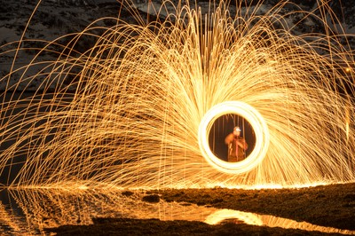 Steel Wool Fun - Arctic Norway