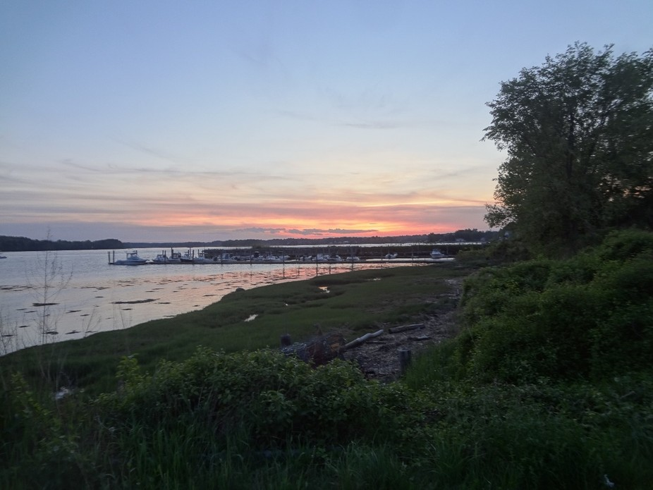 Great Bay, Newington, NH sunset