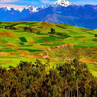 Andes countryside, Peru