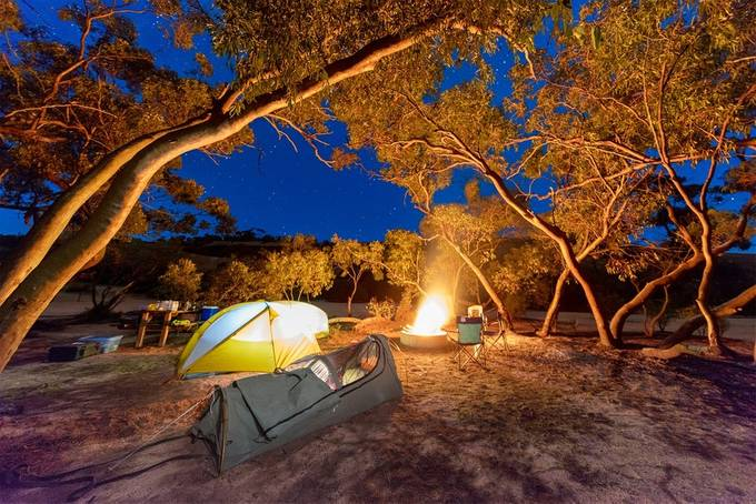 Outback Camping by paulmp - Outdoor Camping Photo Contest