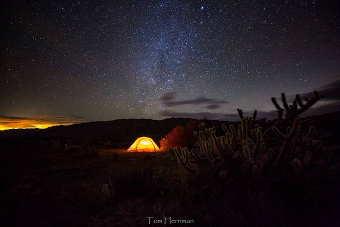 Beneath the Stars by tomherriman - Outdoor Camping Photo Contest