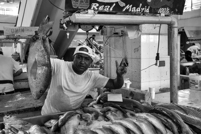 Fish market Panama City, casco antiguo