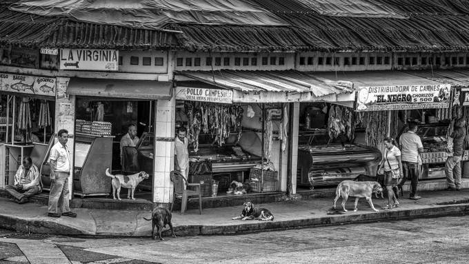 Calarca / Quindio - Colombia, streetlife
