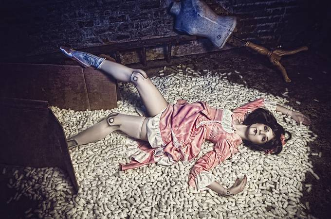 Broken doll 1 by stratographic - Subjects On The Ground Photo Contest
