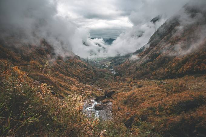 Valley Fog by byrnephotography - Moody Vistas Photo Contest