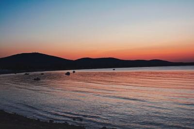 Sunset over Black Sea