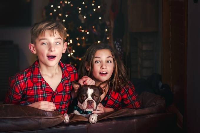 Waiting for Santa :P by rebecca812 - People And Animals Photo Contest