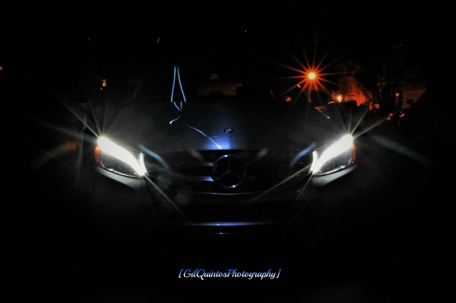 Just experimenting with light around a 2016 Mercedes at night. Attempting to get a handle on long...