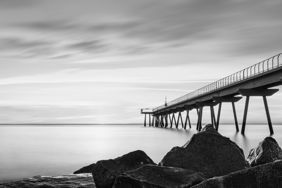 I converted this 120 second exposure to B&W in LR classic. It was taken on 31st December ...