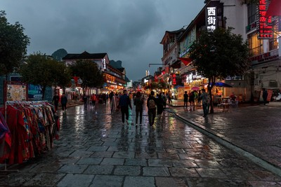 Yangshuo West Street, Guilin - China