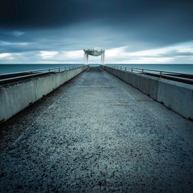This pier is located on the Napier waterfront, directly opposite the main shopping area.  The day was cool, and gloomy so created a nice mood for...