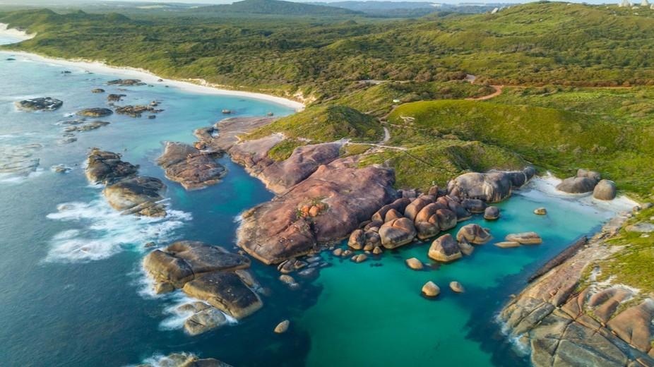 Elephant Rock, Denmark, Western Australia.
