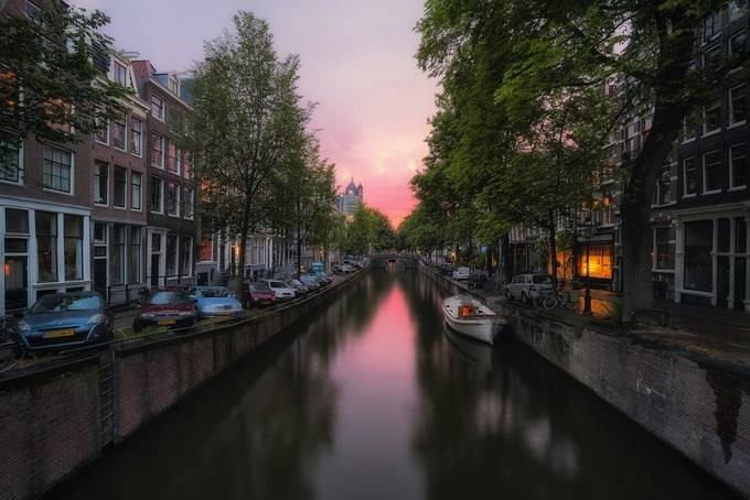 Amsterdam Canals by TomazKlemensak - Canals Photo Contest