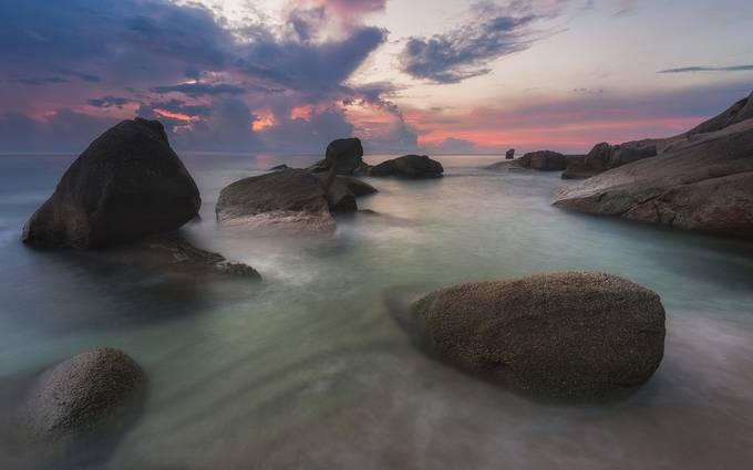 Rocky beach by TomazKlemensak - Zen Photo Contest