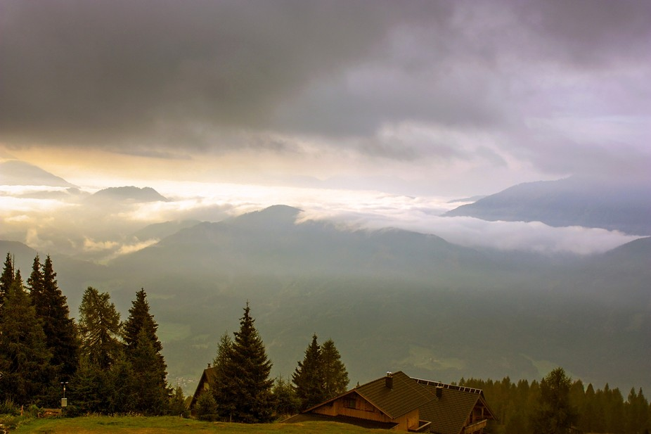 Fog In The Mountains 2