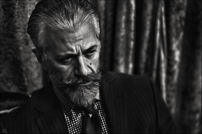 The writer by vassilispitoulis - Beards and Mustaches Photo Contest