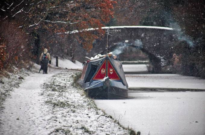 Frozen Tow Path by michaelkdavies - Canals Photo Contest