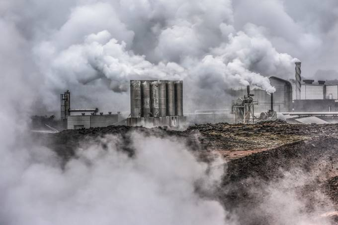 Reykjanes Power Plant  by jamesrushforth - Industry Photo Contest