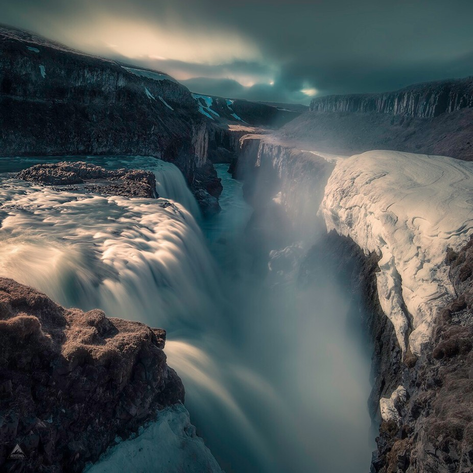 Gullfoss in Iceland  by Sentinelphotography - Image Of The Month Photo Contest Vol 29