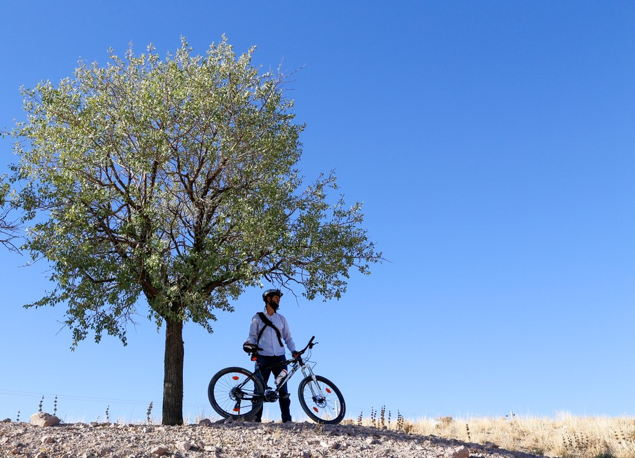 Me and the bike