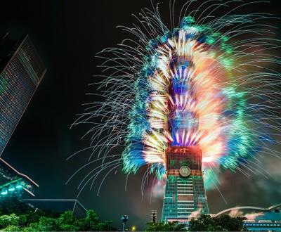 Manhattan Kansas Photographer Steven Hendricks Photography - Taipei 101 Fireworks
