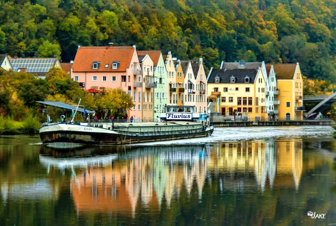 Reflections on the Rhine by redwriter - Photogenic Villages Photo Contest