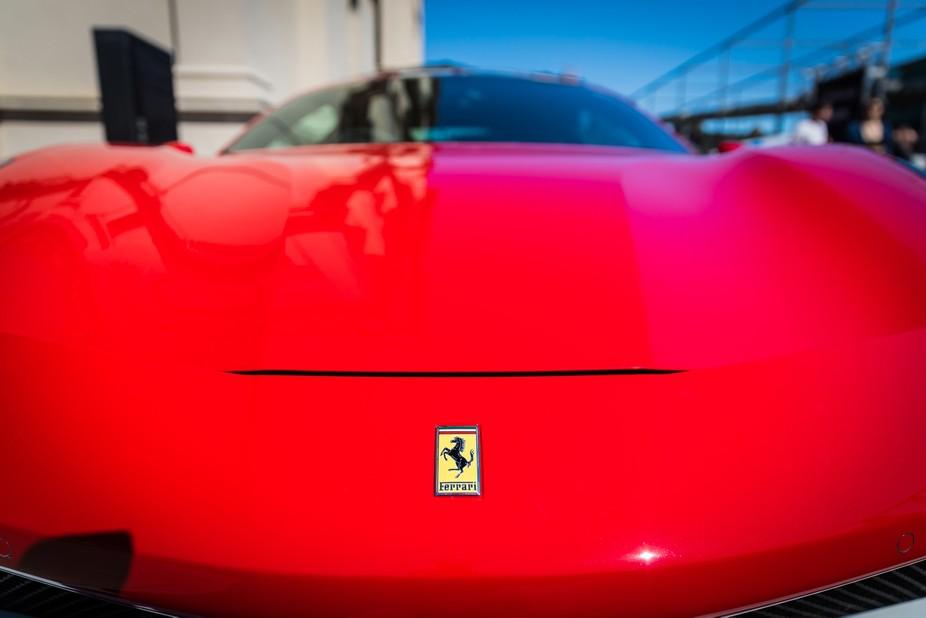 Ferrari 488 taken at Motorclassica 2017