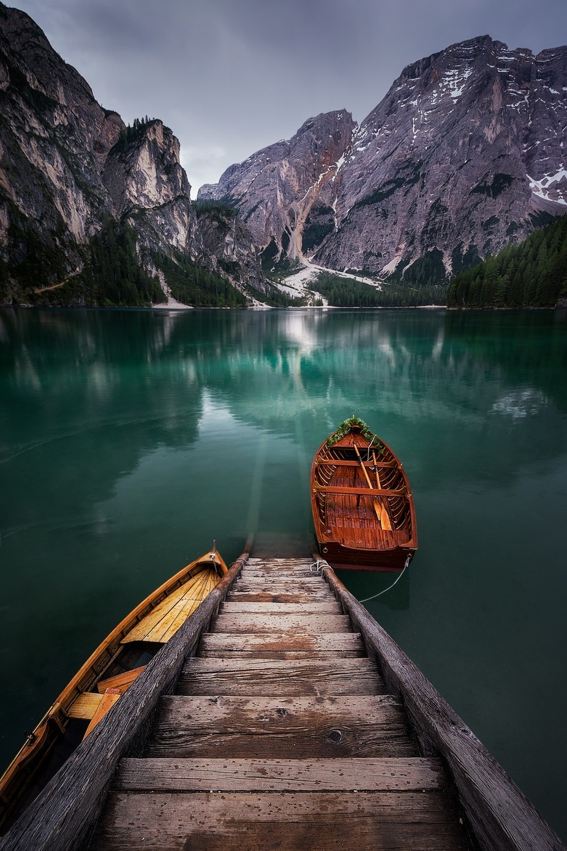 Lago di Braies by ivanferrerophoto - Spectacular Lakes Photo Contest