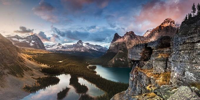 Over the lakes by JEKAMOBILE - Spectacular Cliffs Photo Contest