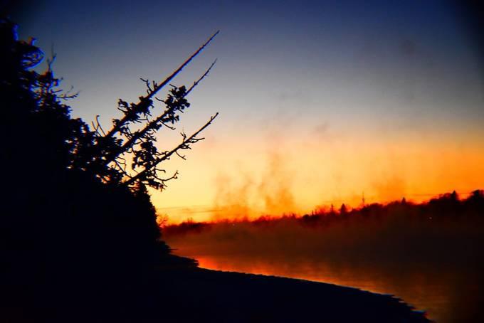 Shot 1/5/18 sunset Temperature 20+ below zero Fahrenheit Nikon D3400 supervivid