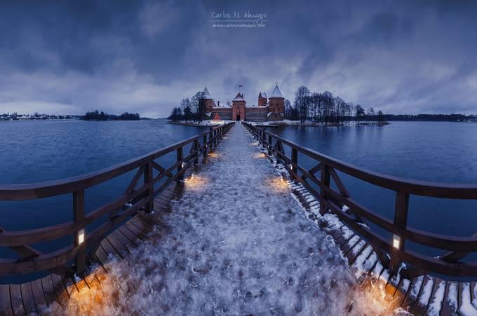 Trakai winter tale by Carlosmacr - Winter Long Exposures Photo Contest