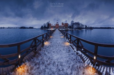 Trakai winter tale