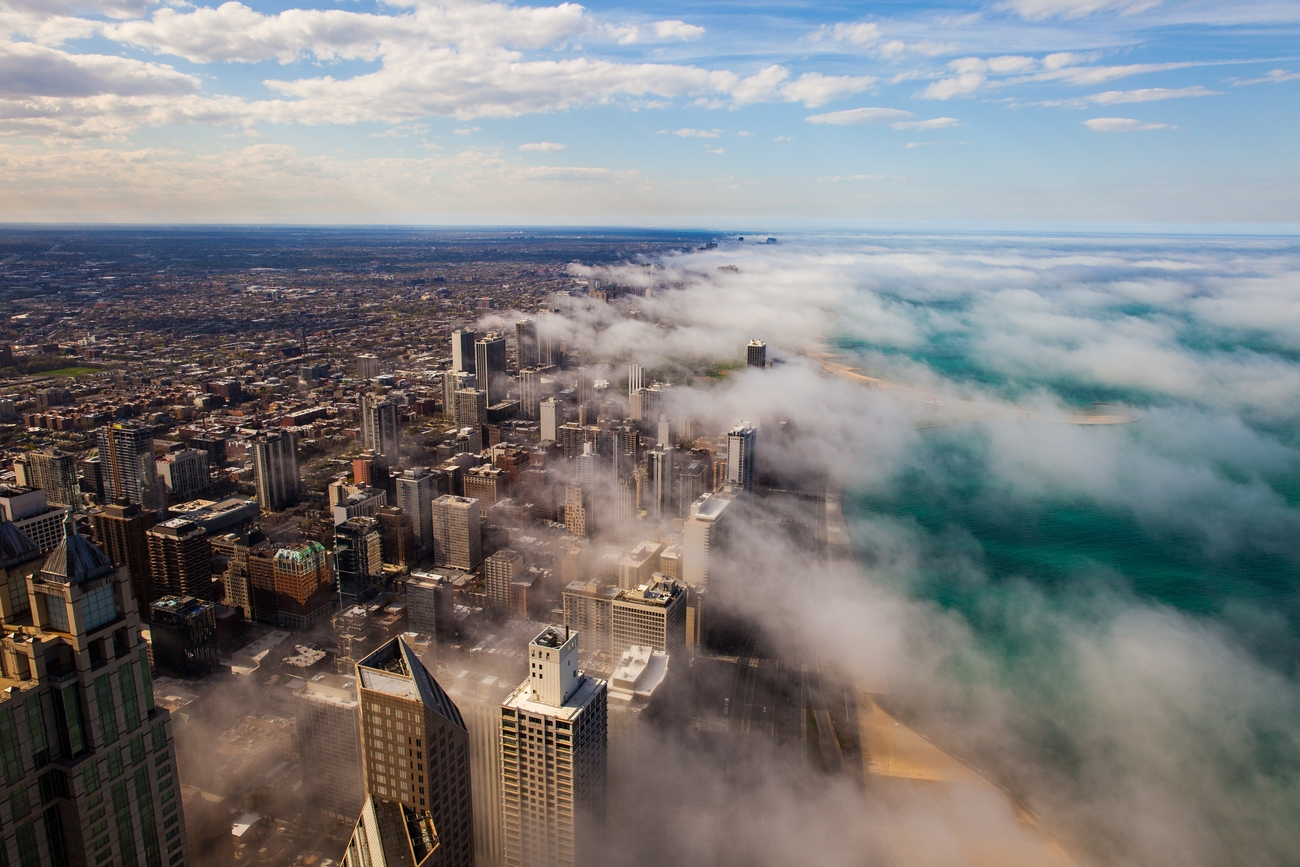 Fog And City Photo Contest Winner