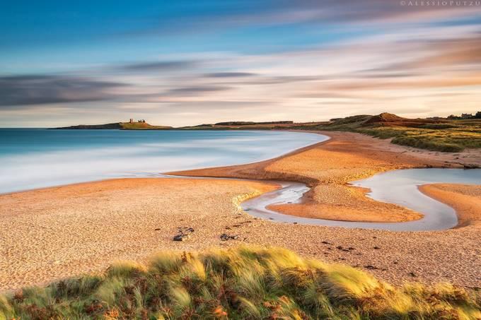 Dunstanburgh Magic by alessioputzu - Streams In Nature Photo Contest
