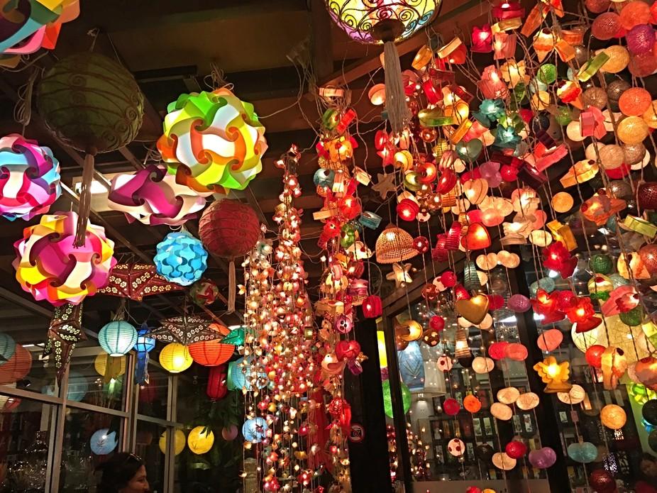 Chatuchak market lights...Bangkok