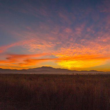 Sunrise at San Jacinto Wilderness Area, Riverside CA
