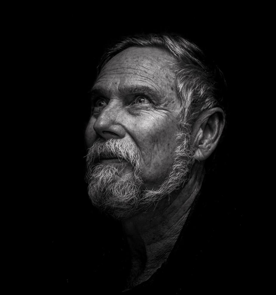 Don in B & W by jonwestaway - Male Portraits Photo Contest