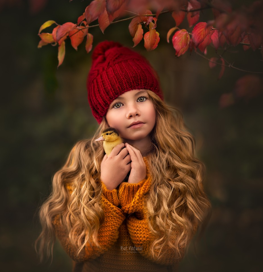 Gorgeous little Ella and her little ducky by sujatasetia - It Is Red Photo Contest
