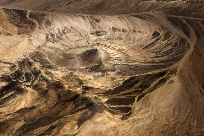 Meteor crater by albertoghizzipanizza - Creative Landscapes Photo Contest