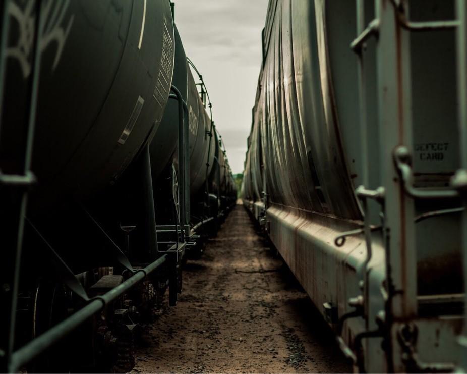 an anandoned train yard in my hometoem. @mikebxck on instagram